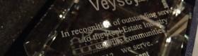 Vern Veysey Honored at Washington REALTORS Spring Conference