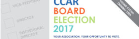 2017 CCAR Elections