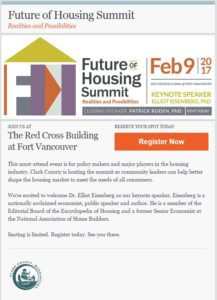 Future of Housing Summit: Realities and Possibilities @ Red Cross Building - FVNT | Vancouver | Washington | United States