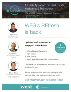 WFG REFresh @ The Armory Theater | Portland | Oregon | United States