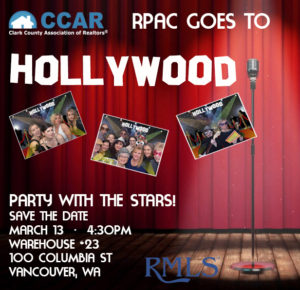 Party with the Stars! RPAC Goes to Hollywood! @ Warehouse 23