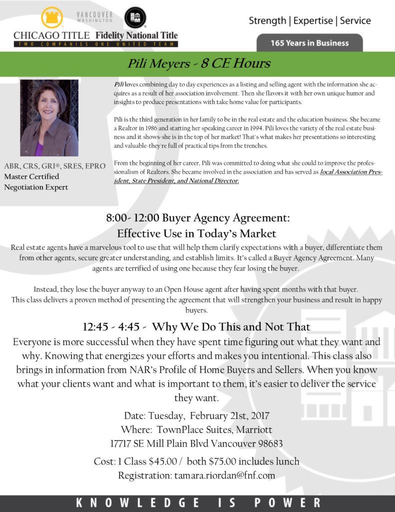 Buyer agency agreement effective use in todays market ccar pili meyer 221172 platinumwayz