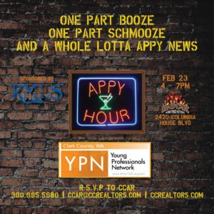 YPN Appy Hour sponsored by RMLS @ The Rock Wood Fired Kitchen | Vancouver | Washington | United States