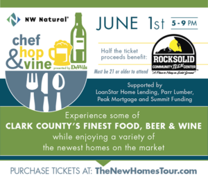 NW Natural Chef Hop, & Vine @ 6 new homes in Clark County