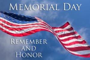 Office Closure - Happy Memorial Day