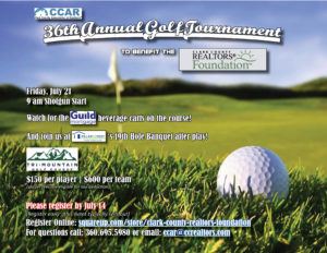 36th Annual Golf Tournament benefiting the Clark County REALTORS® Foundation @ Tri Mountain Golf Course   Ridgefield   Washington   United States