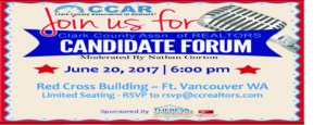 Candidate Forum @ The Red Cross Building at Ft. Vancouver | Vancouver | Washington | United States