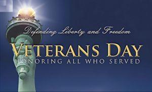 Veteran's Day - CCAR office closed
