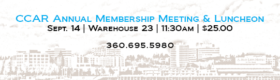 CCAR Annual Membership Meeting & Luncheon