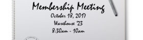 October Membership Breakfast
