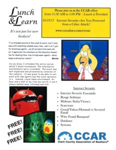 Lunch & Learn Internet Security @ CCAR | Vancouver | Washington | United States