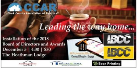 SAVE THE DATE! 2018 Installation and Awards